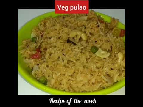 Vegetable pulav with different method/વેજીટેબલ પુલાવ/vegetable pulav