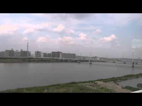 [HD] Tokyo Skytree Highway from Keisei Bus