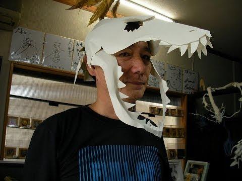 Easy dinosaur mask
