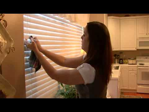 How to Clean Vinyl Mini Blinds