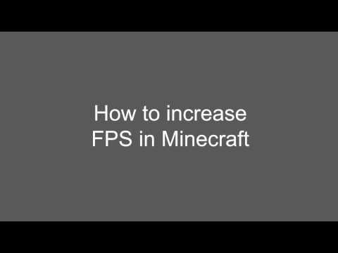 Easy Tutorial to Increase Minecrafts FPS MAC