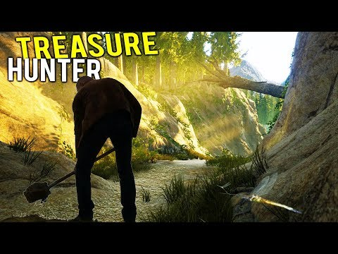 GETTING RICH BY BECOMING A PROFESSIONAL TREASURE HUNTERl!  - Treasure Hunter Beta Gameplay