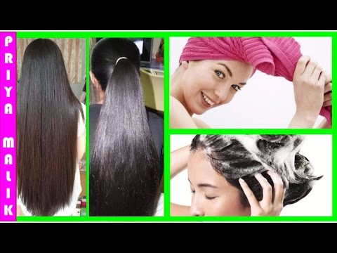 How To Get Super Silky, Shiny, Smooth Hair~ Hair Spa At Home in Simple 5 Steps