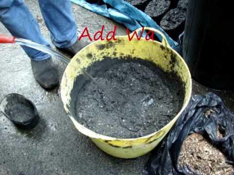 Coal Dust Brick Manufacturing