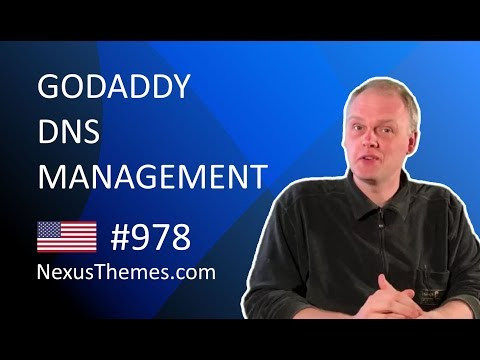 GoDaddy DNS management for sites on the US regio | NexusThemes.com #978