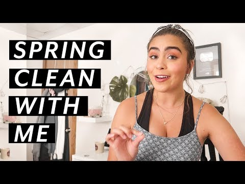 HOW TO SPRING CLEAN YOUR CLOSET + GET ORGANIZED (vlog!) ♡