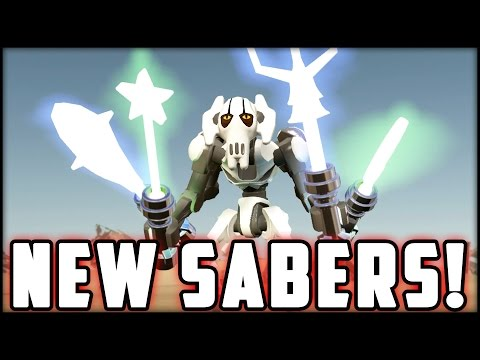 LEGO Star Wars The Force Awakens - Super Silly Sabers!!! Wacky Lightsabers