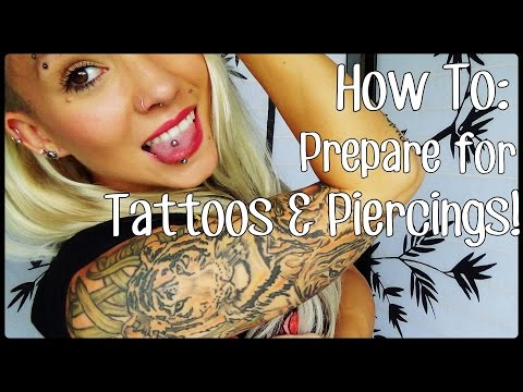 How To: Prepare for Tattoos & Piercings! | BreeAnn Barbie
