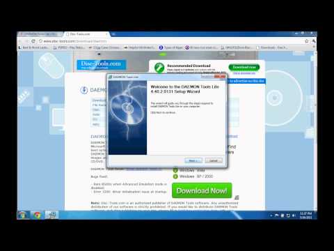 How to mount an ISO file in Windows 7 (HD)