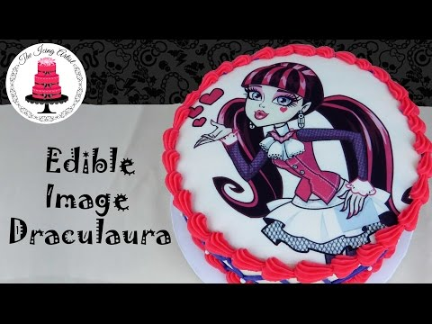 Edible Image Monster High Cake - How To With The Icing Artist