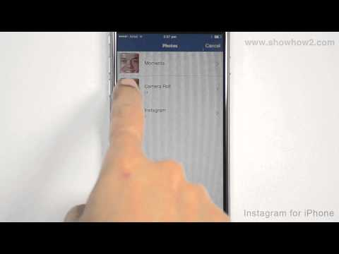 Instagram For iPhone - How To Change Profile Picture
