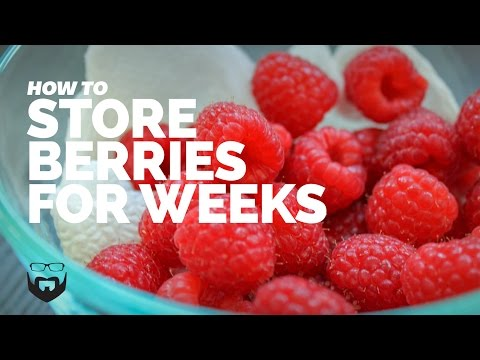 How to Store Berries for Weeks