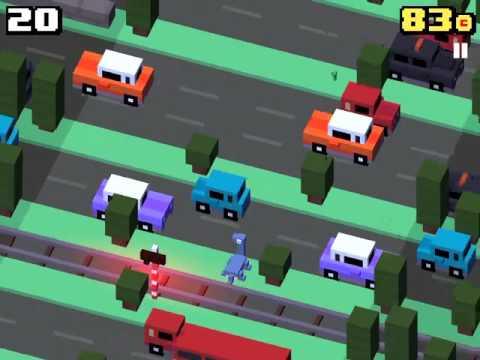 Crossy Road - Loch Ness Monster And Pro Gamer