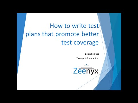 How to Write Better Test plans