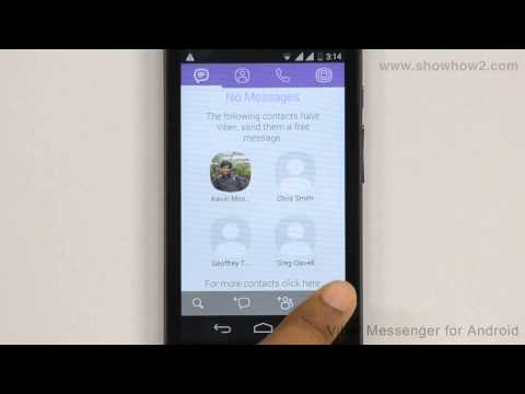 Viber Messenger - How To Add A Profile Photo