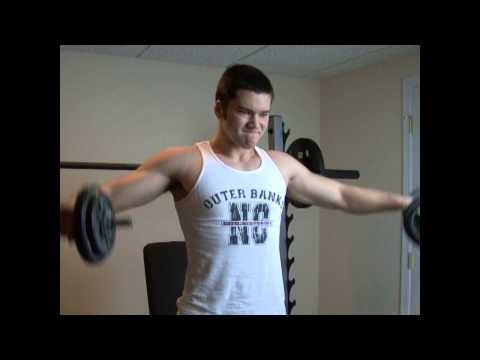 How To Get Ripped Shoulders With Side Lateral Raises