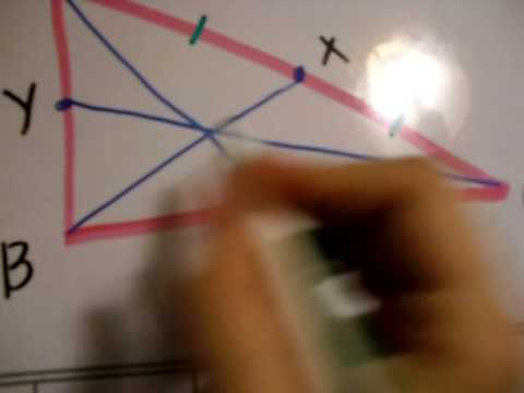 Geometry Project: How to find the centroid!