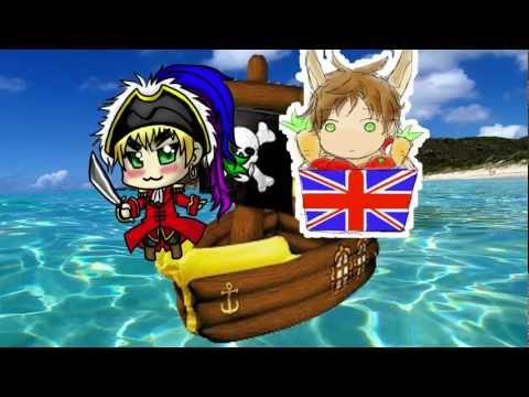 【APH ☠ Uk x Spain - Why don't you get a Job?