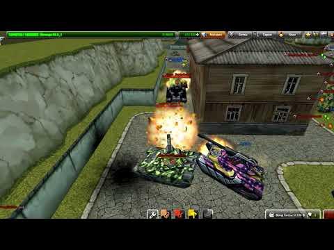 Tanki online /my friends  vs  R_N_S и сливные  дешевки Run Run  D3s