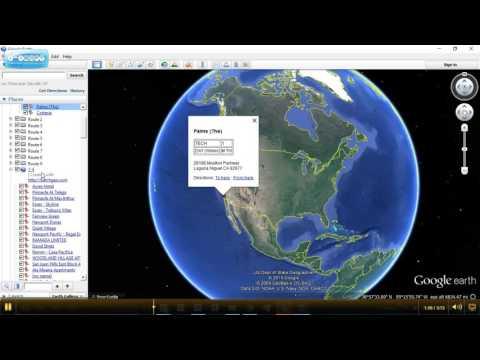Google Earth Pins to Folders 1