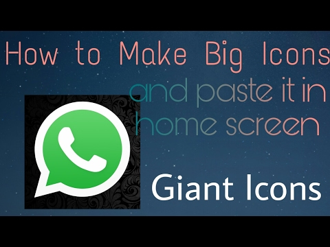 How to make app Icons bigger on Android | Giant Icons | How to enlarge app icons on Android