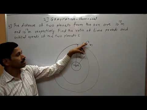 Gravitation Numerical 2 Maharashtra Board Physics in hindi