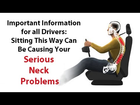 IMPORTANT:  Sitting this Way While Driving Will Cause Serious Neck Problems - Dr Mandell