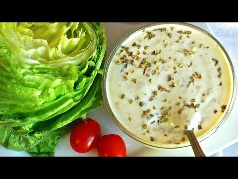 Homemade Creamy Italian Dressing Recipe