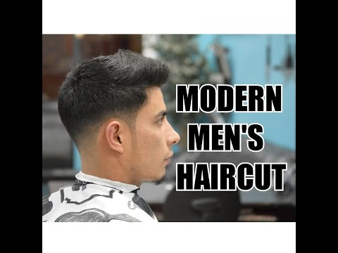 MODERN MEN'S HAIRCUT TUTORIAL / LOW FADE