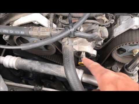 2006 Hyundai Tuburon 2.7 Ticking Noise - Timing Belt - Repair