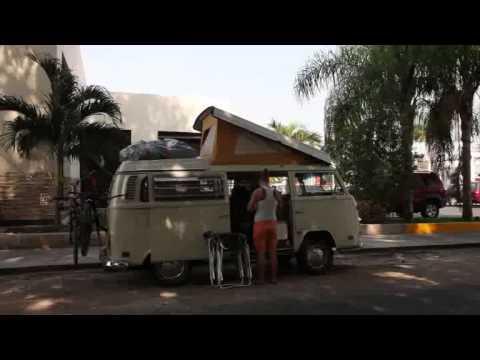 Packing the bus in Merida