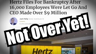 Hertz Filed for Bankruptcy After Hours - My Account took a gut punch!