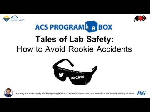 Tales of Lab Safety: How to Avoid Rookie Accidents