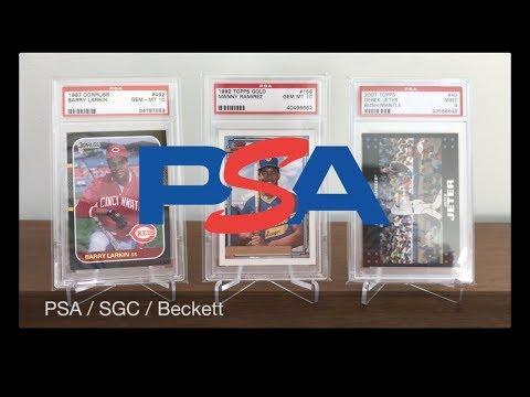 PSA vs SGC vs Beckett