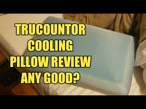 Review of the TruContour Firm Cooling Gel Memory Foam Pillow