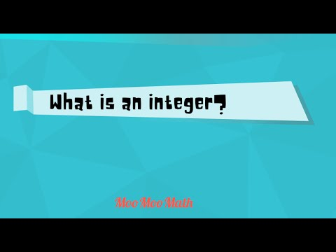 Integers-Middle School Math