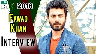 Fawad Khan Interview | Peshawar Zalmi Vs Islamabad United | Final | 25 March | HBL PSL 2018
