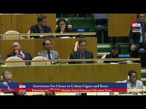the UN story Americans No Closer to Cuban Cigars and Rum