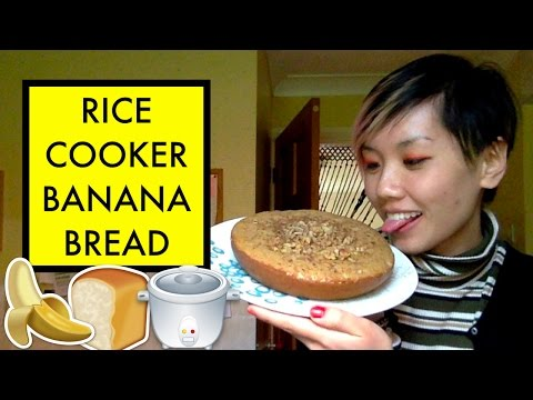 Cooking Banana Bread In a Rice Cooker | Miso Hungry Ep 6