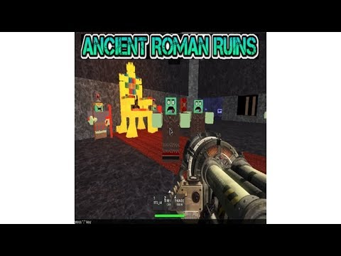 ANCIENT ROMAN RUINS W.A.W. CUSTOM ZOMBIES MAP