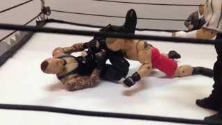 FINALLY undertaker vs. brock lesnar part 2 (the match) stop motion