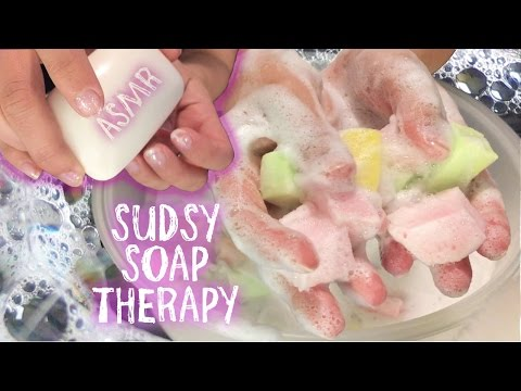 [ASMR] ~*Squishy*~ Sudsy Soap Therapy (No Talking)