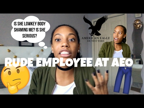 STORYTIME: RUDE AMERICAN EAGLE EMPLOYEE || StormJohnson