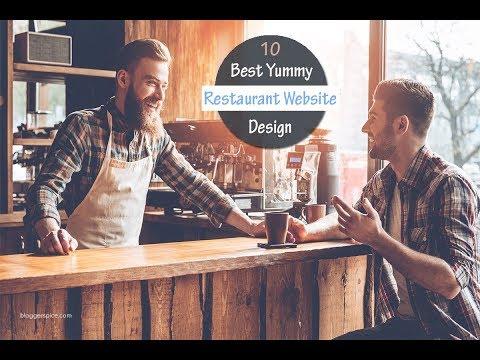 10 Best Yummy Restaurant Website Design Inspirations