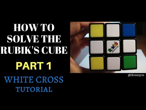 How to Solve the Rubik's Cube: White Cross (Part 1)