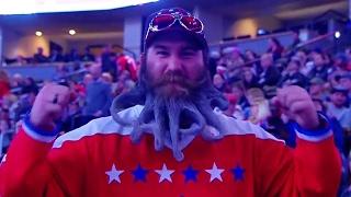 "Gotta See It: Capitals fan spells ""CAPS"" in disgusting, impressive beard"