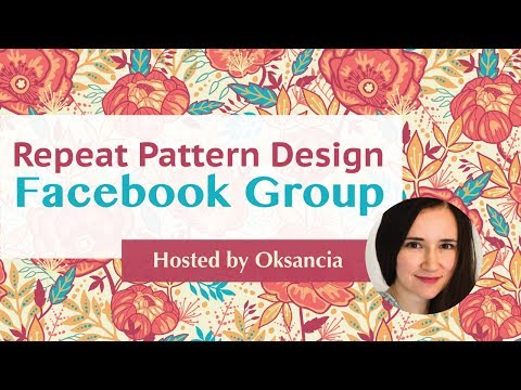 Get Feedback and Questions Answered In My Facebook Group For New and Experienced Textile Designers