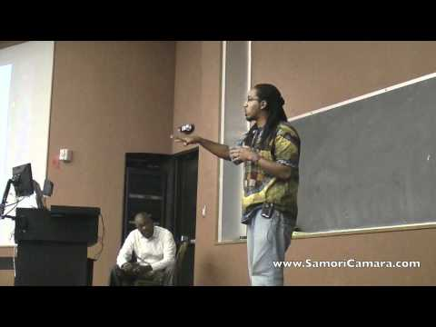 Samori Speaks at the University of Texas