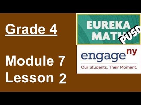 Eureka Math Grade 4 Module 7 Lesson 2
