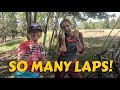 SYD AND COOPER SMASH LAPS -- Pre-Riding for the Scott Enduro Cup at Angel Fire Bike Park